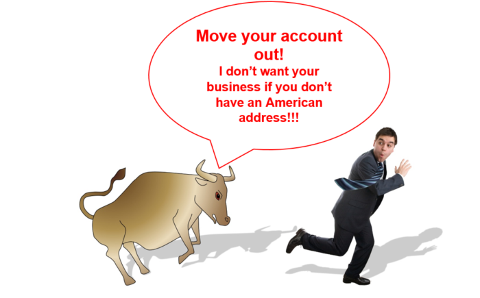 brokerage account without American address